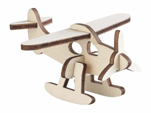 5 mini maquettes en carton avion drone avion de chasse avion de ligne en bois a peindre pour chambre d'enfant loisir creatif facile pour toute la famille
