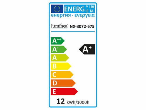 Ampoule LED 12 W / E27 / 1055 lm avec détecteur de mouvement - Blanc