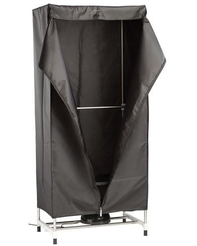 penderie mobile en tissu avec s choir linge lectrique. Black Bedroom Furniture Sets. Home Design Ideas