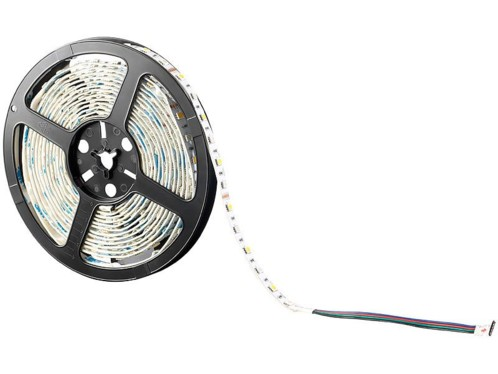 Bande lumineuse 300 LED SMD (RVB + blanc), 5 m ''LX-500A'' - extérieur