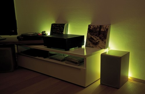 bande lumineuse 300 led 5m blanc et multicolore int ext. Black Bedroom Furniture Sets. Home Design Ideas