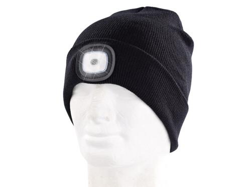Bonnet à 4 LED avant - Avec batterie USB