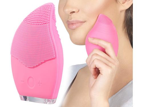 Brosse électrique en silicone pour visage