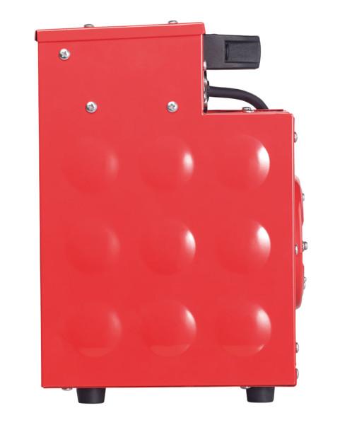 radiateur soufflant electrique de chantier 2000 3000 w agt avec boitier acier renforcé utilisation interieur exterieur