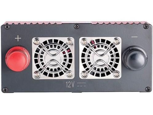 SUDOKEJI 1000W DC 12 V vers 230 V 240 V AC convertisseur de Voiture 12 V avec Allume-Cigare 12 V avec 4,8 A 4 Ports USB 2 Prises AC Adaptateur de Voiture avec /écran LCD
