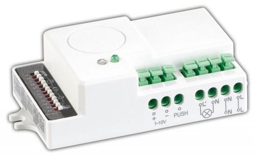Détecteur de mouvement avec radar à micro-ondes et variateur