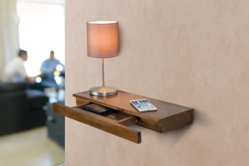 tag re murale 50 x 5 x 18 cm avec tiroir secret. Black Bedroom Furniture Sets. Home Design Ideas