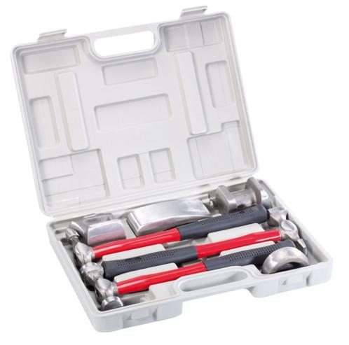 kit de d bosselage pour carrosserie 7 pi ces marteaux et. Black Bedroom Furniture Sets. Home Design Ideas