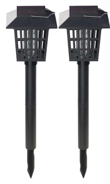 """2 lanternes solaires & piège à insecte à LED UV """"IV-170"""""""