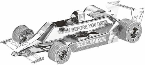 Maquette 3D en métal : Formule 1 - 45 pièces