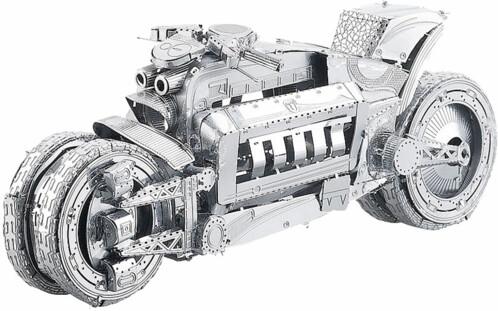 Maquette 3D en métal : Moto futuriste - 45 pièces