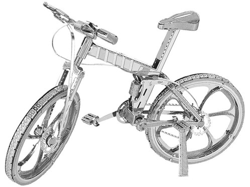 Maquette 3D en métal : VTT - 36 pièces