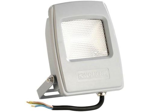 Projecteur LED pour extérieur - 10 W - Blanc chaud