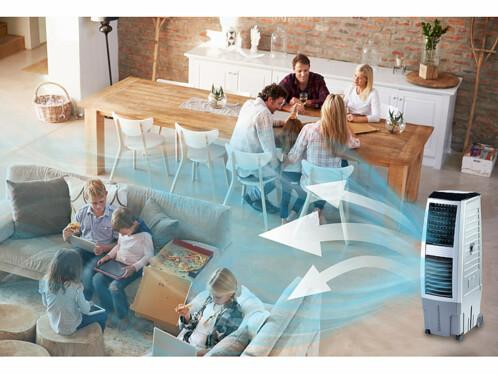 rafra chisseur d 39 air mobile avec ioniseur et. Black Bedroom Furniture Sets. Home Design Ideas