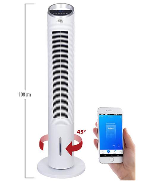 Rafraîchisseur d'air colonne connectéVT-560.app