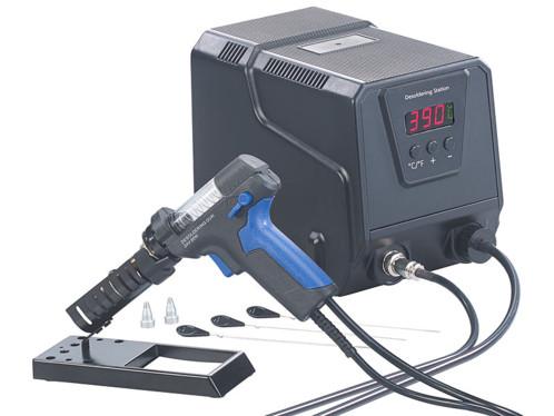 station de désoudage avec aspirateur à métal etain liquide temperature reglable jusqu'à 480 degrés AGT