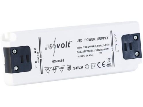 Transformateur pour lampes à LED - 0 à 40 W