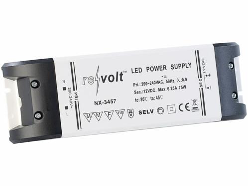 Transformateur pour lampes à LED - 0 à 75 W