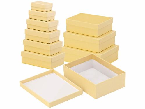 10boîtes de rangement en 10tailles différentes