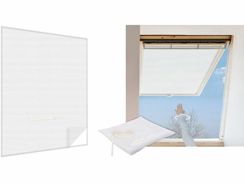 Moustiquaire avec fermeture à glissière - Blanc