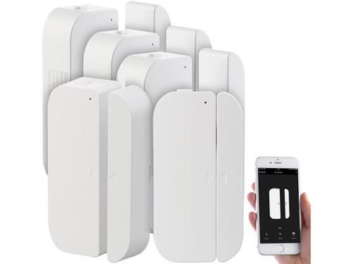5 détecteurs d'ouverture de porte/fenêtre connectés