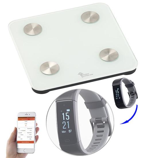 Balance impédancemètre connectée 7 en 1 - Avec montre FBT-110.HR