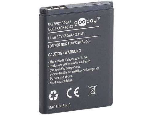 Batterie BL-5B pour Caméscope DV-812.H et Kits mains-libres BT