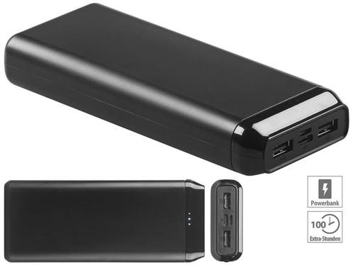 Batterie d'appoint à 2 ports USB 20000mAh/2,4A/12W