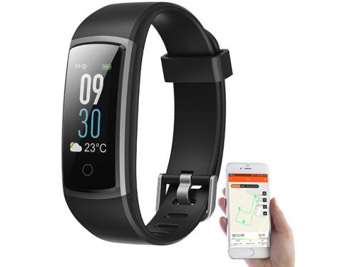 Bracelet pour le fitness connecté à un smartphone.