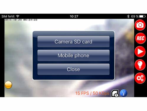 Caméra de surveillance avec projecteur LED - HD