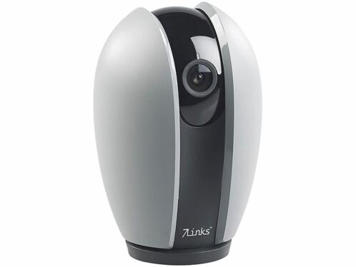 camera de surveillance connectée avec vision 360° et application ipc 340 echo 7links
