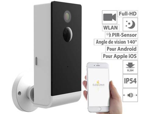Caméra de surveillance Full HD connectée IPC-490