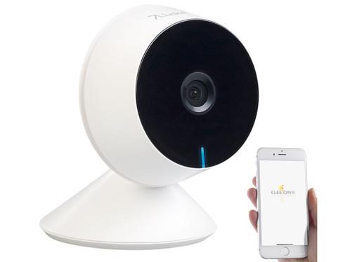 camera de surveillance design avec application domotique ipc290 visortech et vision nocturne