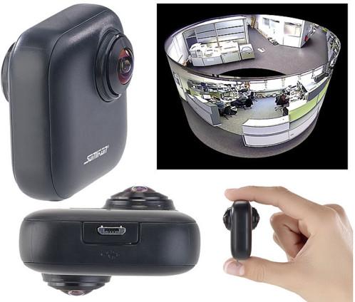 Caméra panoramique 360° / 2K pour smartphones Android OTG