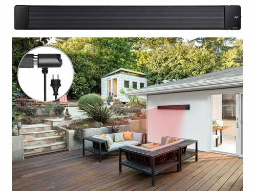 Chauffage radiant infrarouge 3200W télécommandé