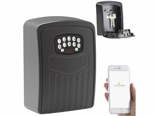 Coffre-fort d'extérieur XCase connecté par application mobile et avec fonction bluetooth.