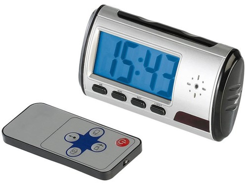 Horloge digitale 4 en 1 avec caméra