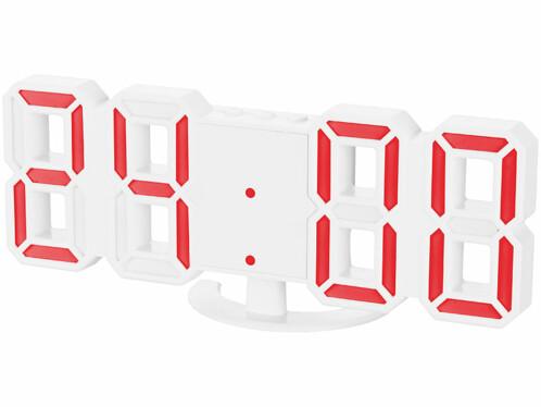 Horloge LED compacte avec chiffres à 7segments