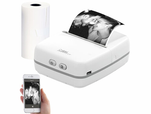 Imprimante thermique mobile 203 dpi bluetooth TD-100.app