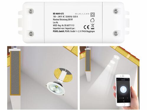 Interrupteur et variateur connecté