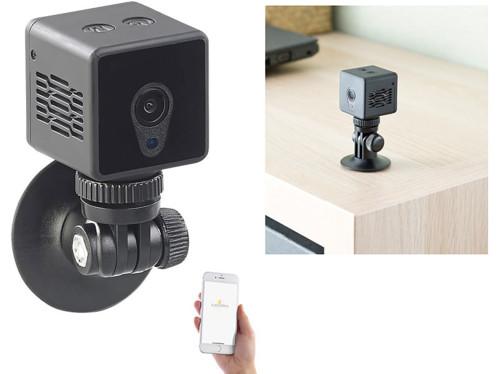 Mini caméra de surveillance IP connectée HD avec vision nocturne IPC-60.mini