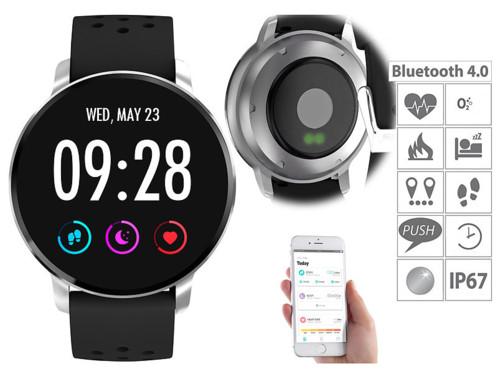 Montre fitness IP67avec cardio, tension et fonction bluetooth 4.0 SW-310.hr