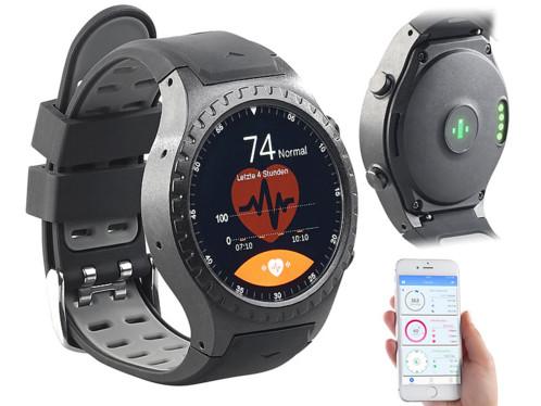 montre sport avec téléphone intégré emplacement sim et application suivi performances sportives pw500 newgen