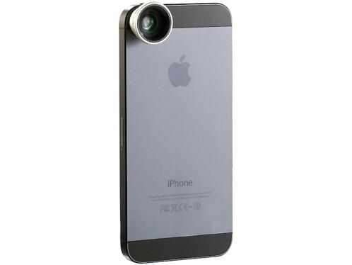 Objectif macro et grand angle magnétique pour smartphone