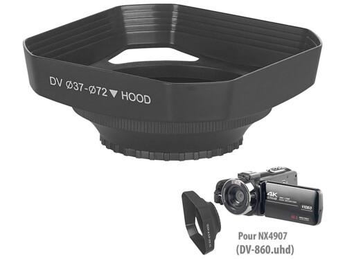 Pare-soleil pour caméscope 4K UHD DV-860.uhd