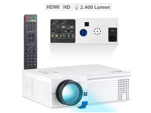 Projecteur vidéo LCD-LED HD 2400 lm avec lecteur média intégré LB-9200