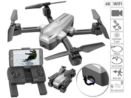 Cascacavelle Quadricoptere 998-V2 Quadcopter 4 Canaux 2,4 GHz avec Cam/éra Despionnage avec La Derni/ère Technologie Gyroscope T/él/écommande LCD by
