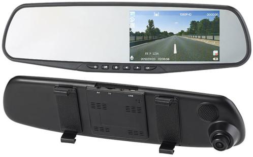 retroviseur extra large avec camera de bord integree et ecran 4,3 navgear NAV-200.hd