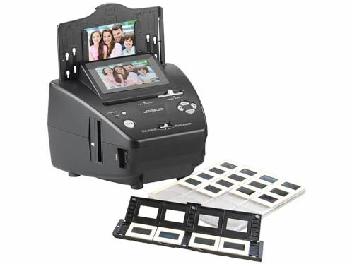 Scanner autonome 20 Mpx pour photos, diapositives et négatifs SD-2000