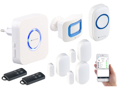 Système d'alarme connecté XMD-3000.avs - 7 accessoires